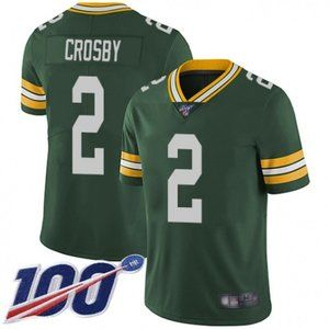 Packers Mason Crosby  100th Season Jersey